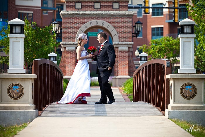Wedding photography in Algonquin, Mc Henry County