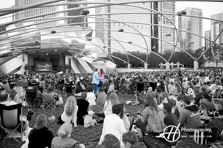 Millenium-Park-Special-Engagement-Photo