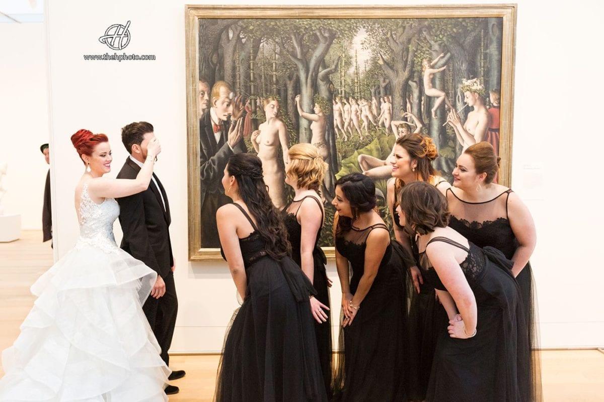 Art-Institute-Chicago-Wedding-Picture