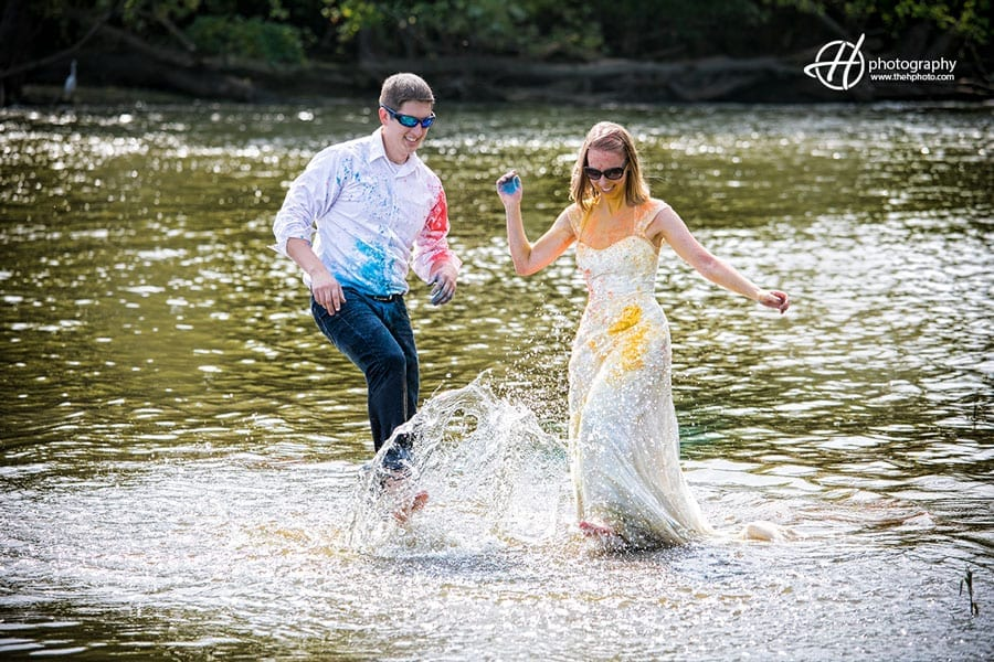 Trash the Dress on Anniversary day