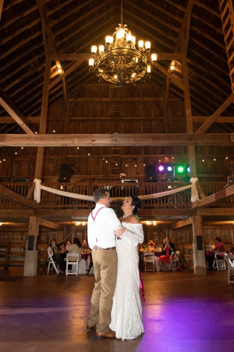 reception at Mora Farm Rustic & Barn Wedding Venue
